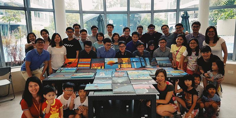 art jamming singapore team building